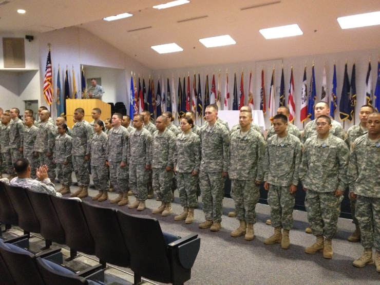 RSP Gold Phase Graduation-HIARNG